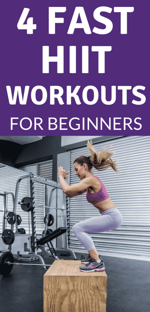 4 fast HIIT workouts for beginners that you can do at home