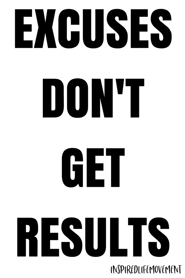 Excuses Don't Get Results Motivational Quotes for Working Out | Fitness Mantras | Fitness Quotes | Inspiring Quotes