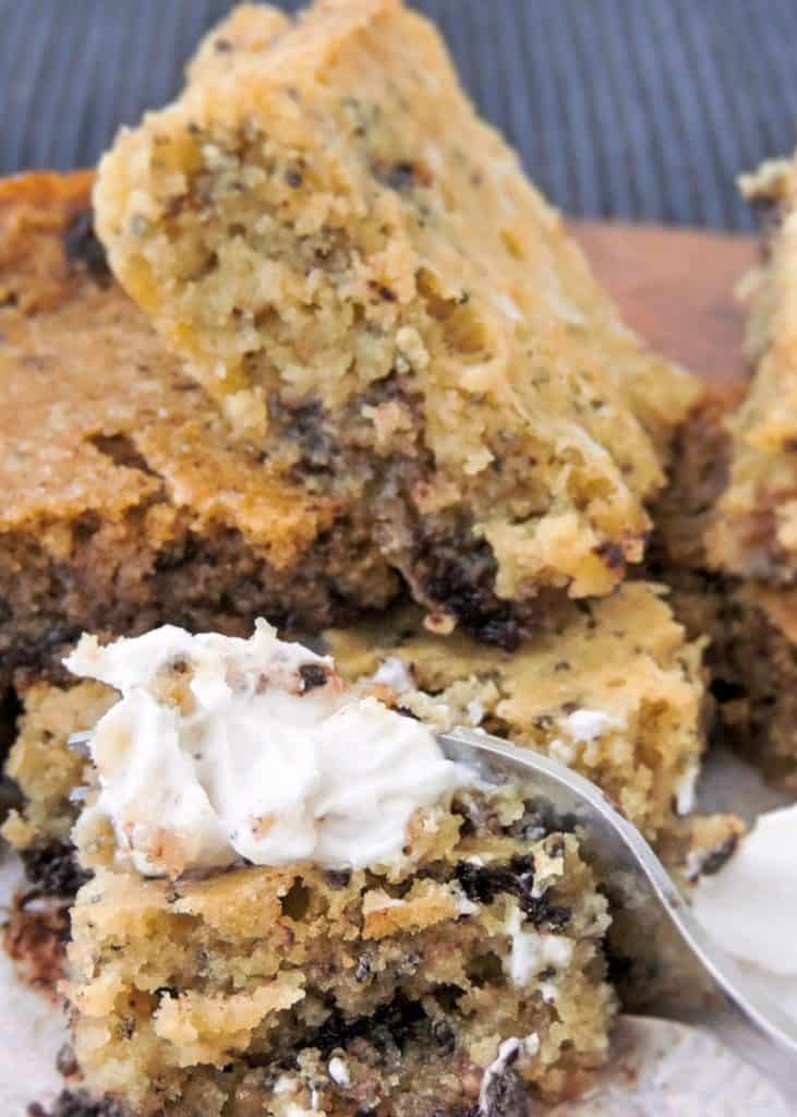 keto blondies recipe