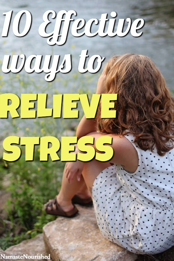 Stress Relief Tips - Try These Effective DIY Stress Relief Ideas To Help Stop Stress #stressrelief #stressrelieftips #diystressrelief