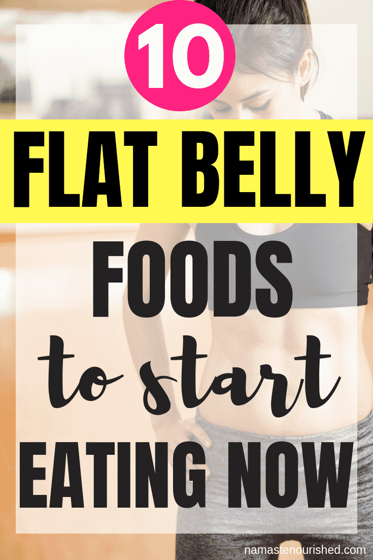 Since I started eating foods that burn belly fat, I've noticed a big difference! Click through to learn 10 flat belly foods that you can start eating now to get a flat tummy!