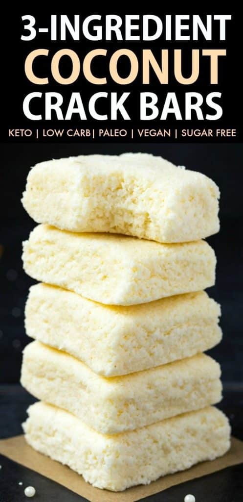 Keto Coconut Crack Bars