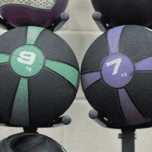 Medicine ball HIIT workout