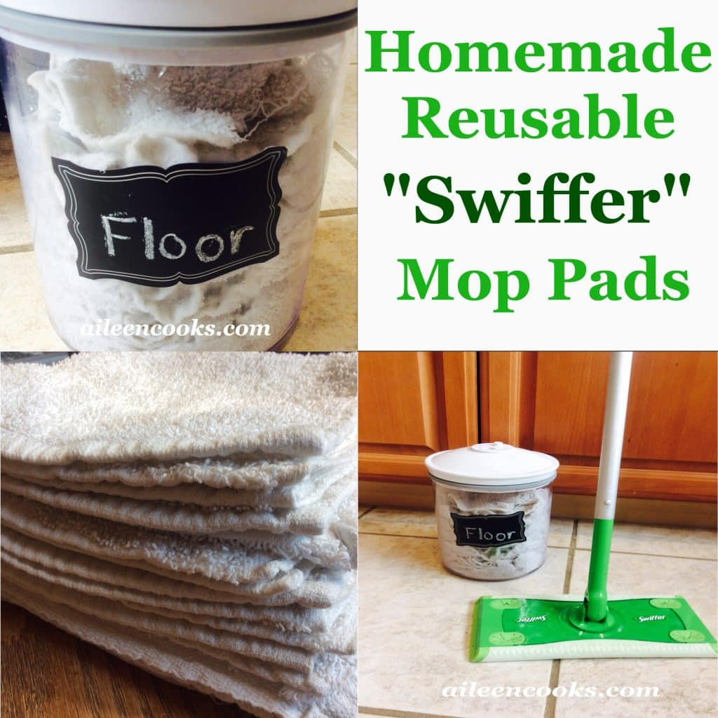 Reusable Swiffer Pads