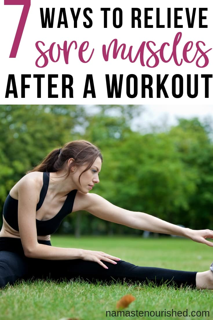 7 muscle soreness relief remedies that you can do at home to relieve muscle soreness after a workout