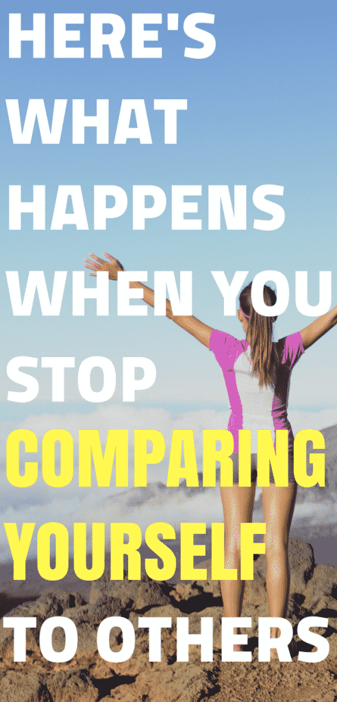 Self care tips - Here's what happens when you stop comparing yourself to others #selfcaretips #selfcare #inspiredlifemovement