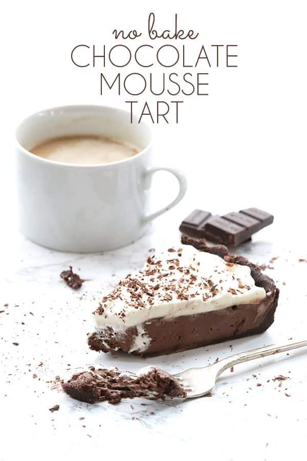 Keto Chocolate Mousse Tart