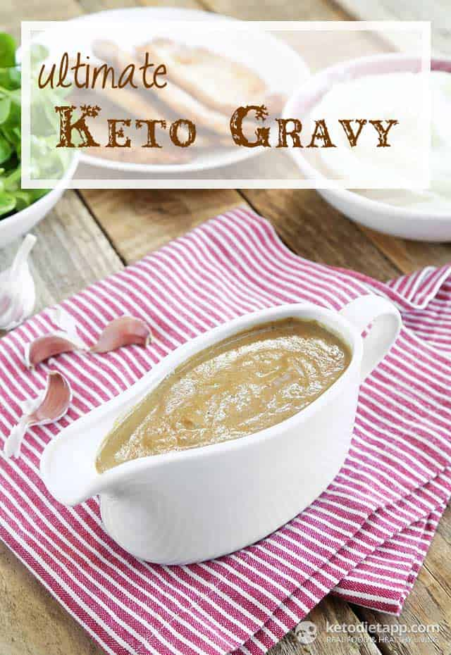 Keto Gravy for Thanksgiving