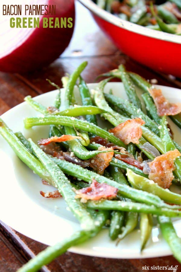 Keto Thanksgiving Recipe - Keto Green Beans with Bacon