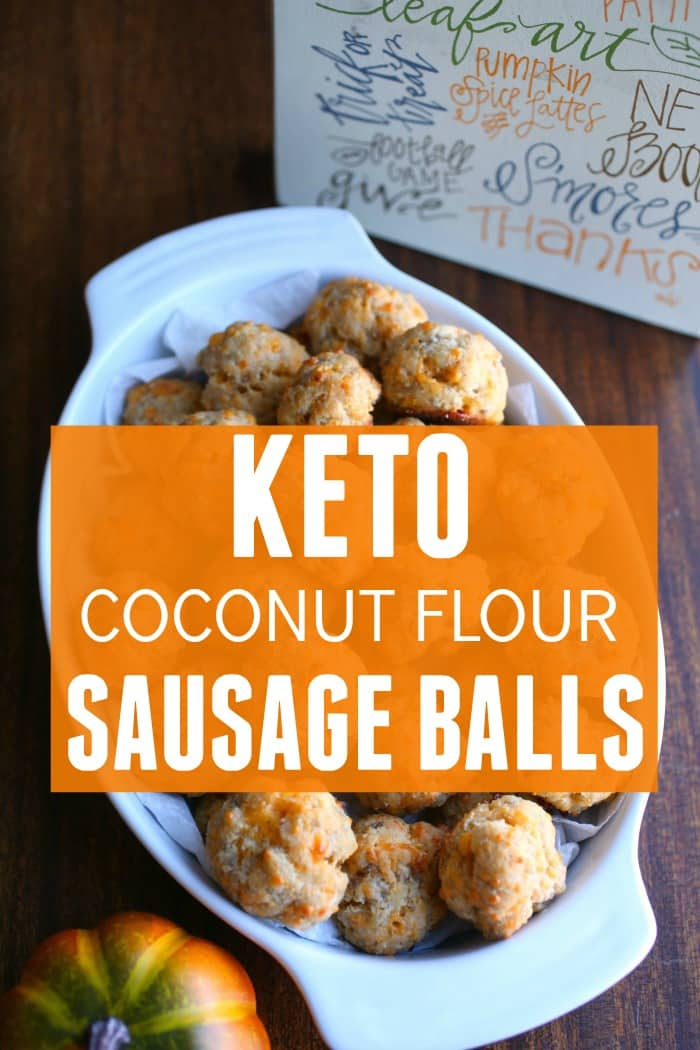 Keto Thanksgiving Recipe - Keto Sausage Balls