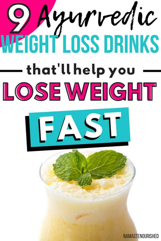 Ayurvedic Weight Loss Drinks to Help You Lose Weight Fast and Naturally #ayurvedicweightloss