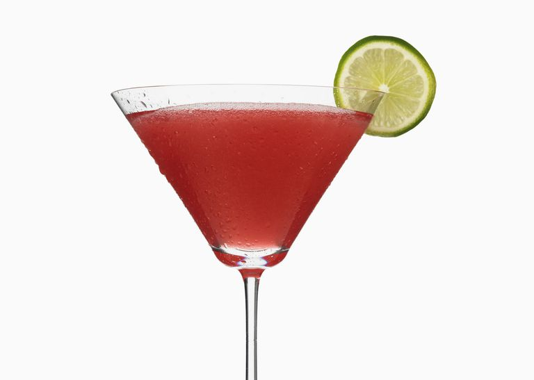 Keto Cosmopolitan cocktail