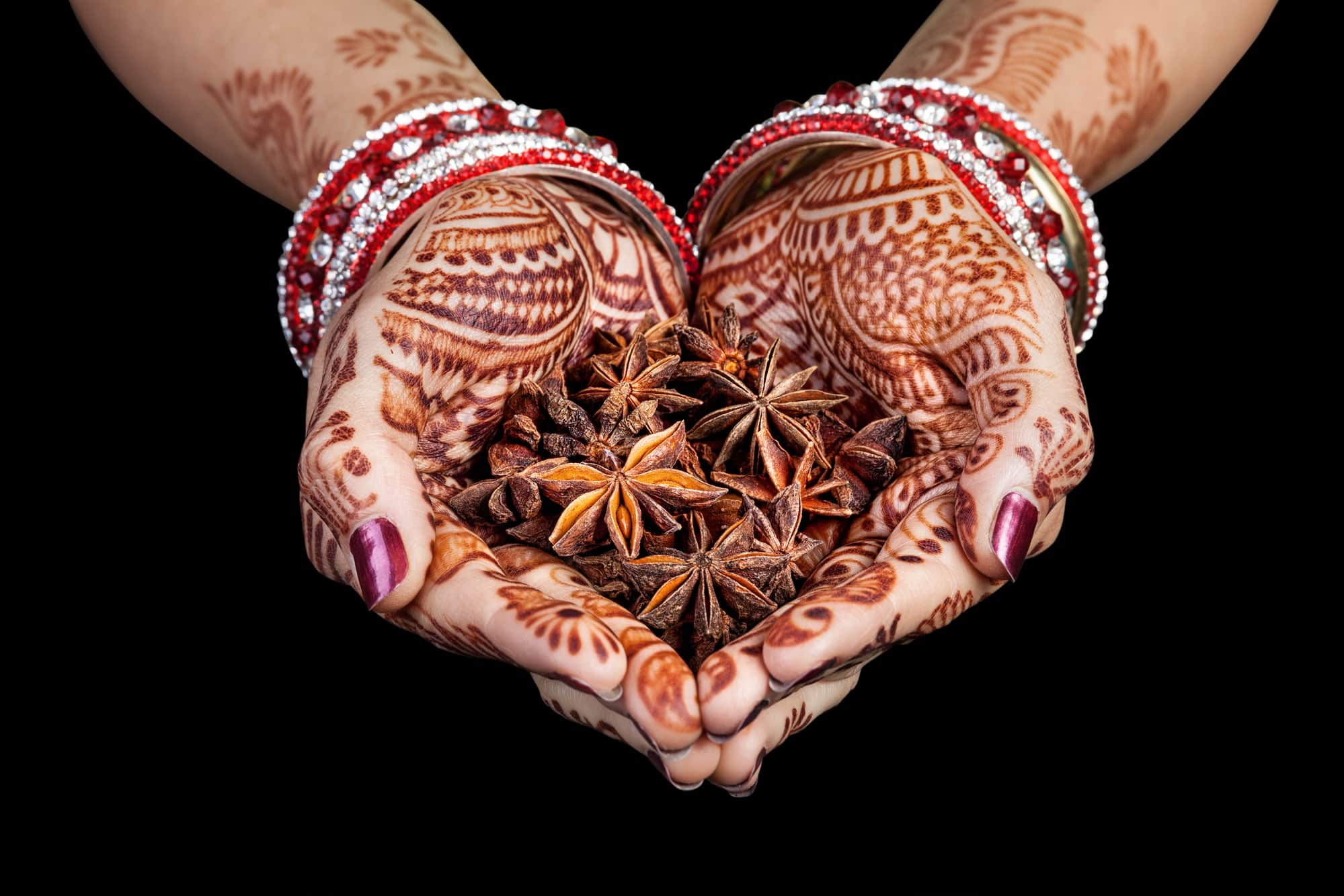 indian mehndi star anise ayurveda
