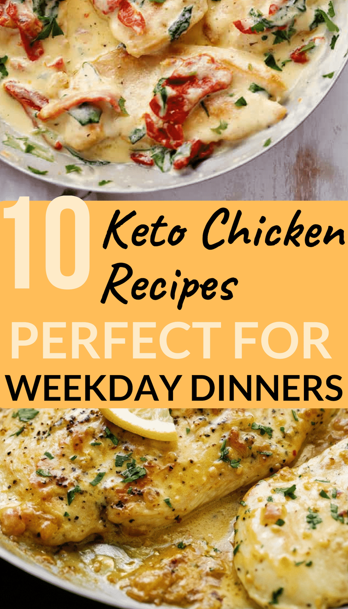 Keto Chicken Recipes Perfect for Weekday Dinners