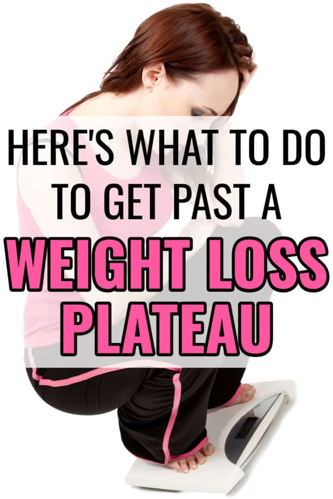 Stopped losing weight? Here's what to do to get past a weight loss plateau.
