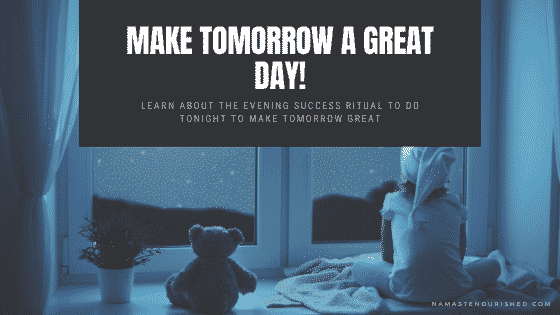 make tomorrow a great day