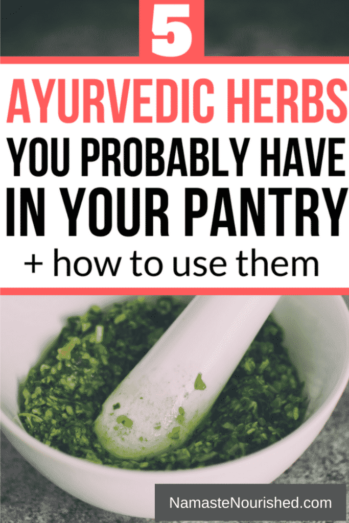 Ayurvedic herbs you should probably have in your pantry and how to use them
