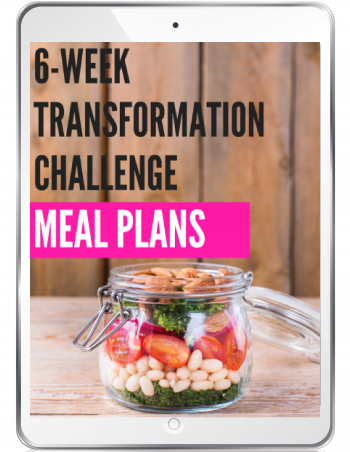 transformation challenge meal plans