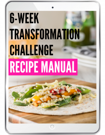 transformation challenge recipe manual